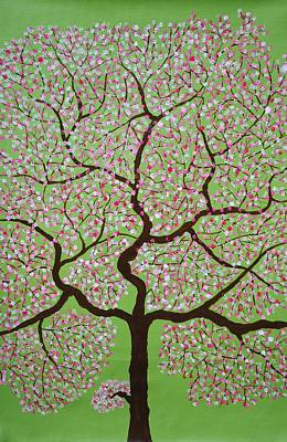 Tree Roots Painting - Gulbhargava by Sumit Mehndiratta