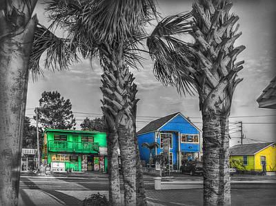 Photograph - Gulf Boulevard Mono by Hanny Heim