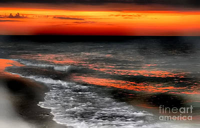 Gulf Coast Sunset Art Print
