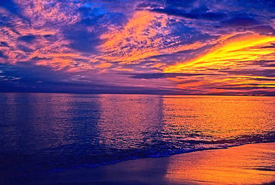 Photograph - Gulf Coast Sunset by Marie Hicks