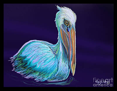 Pelican Digital Art - Gulf Coast Survivor by Nick Gustafson