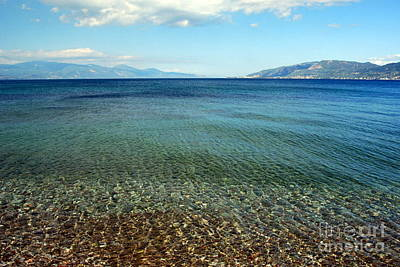 Photograph - Gulf Of Corinth by A K Dayton
