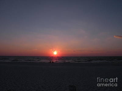 Photograph - Gulf Of Mexico Sunset Port St Joseph Peninsula by Lora Duguay
