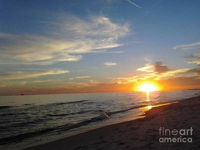 Photograph - Gulf Shores Alabama Sunset2 by LCS Art