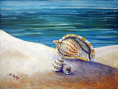 Painting - Gulf Shores And Shells II by Suzanne McKee