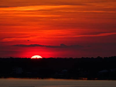 Photograph - Gulf Shores Sunset by Bj Hodges