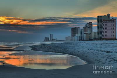 Photograph - Gulf State Park Sunset by Adam Jewell