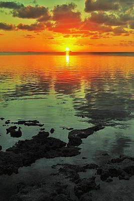 Photograph - Gulf Sunset by Benjamin Yeager