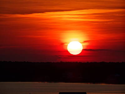 Photograph - Gulf Sunset by Bj Hodges