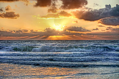 Photograph - Gulf Waters by HH Photography of Florida