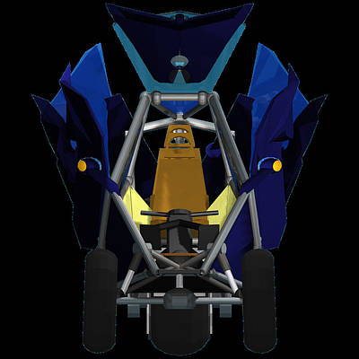 Gull Wing Doors Transformer Transporter Original by Chris  Morton