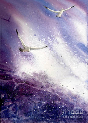 Soaring Painting - Gullible by Susan Swain