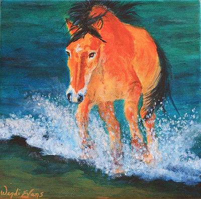Forelock Painting - Gullivers Gallivant by Wendi Matson