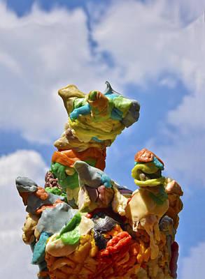 Sculpture - Gum #1 by Skip Hunt