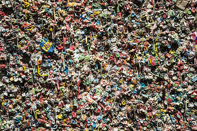 Photograph - Gum Wall by Lee Kirchhevel