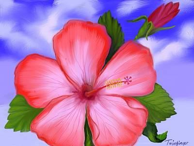Painting - Gumamela by Twinfinger
