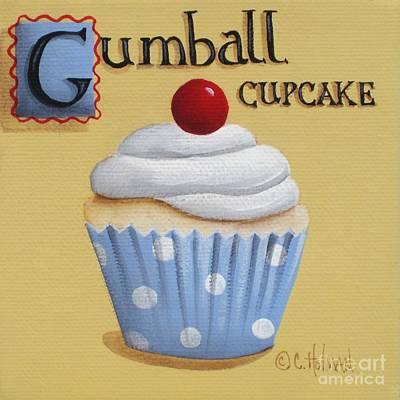 Gumball Cupcake Original