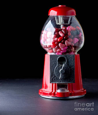 Photograph - Gumball Machine by Edward Fielding