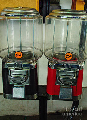 Photograph - Gumball Machines by Tikvah's Hope