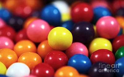 Photograph - Gumballs by John Rizzuto