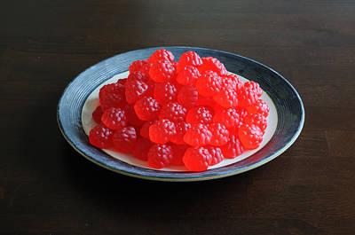 Gummi Candy Photograph - Gummi Raspberries by Scott Angus