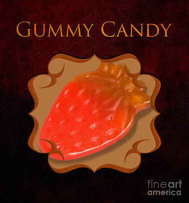 Gummy Candy Gallery Art Print by Iris Richardson