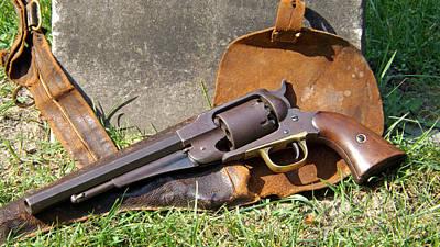 Gun Of Charles E. Storrs  Original by Dennis Pintoski