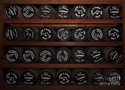 Gun Powder Room At San Francisco Fort Point 5d21509 Print by Wingsdomain Art and Photography