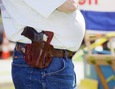 Gun Rights Advocates Art Print by Jim West