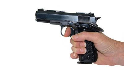 Photograph - Gun Safety by Charles Beeler