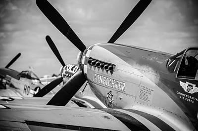 Photograph - Gunfighter by Eric Miller