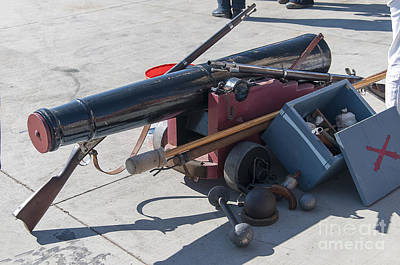 Photograph - Gunnery Weapons by Brenda Kean