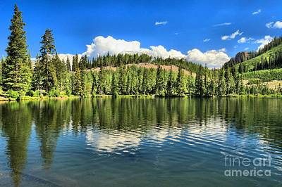 Photograph - Gunnison Dollar Lake by Adam Jewell