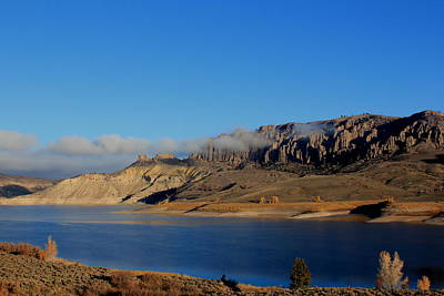 Photograph - Gunnison Reservoir Blue by Trent Mallett