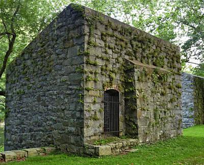 Photograph - Gunpowder Mill. Hagley Museum. by Chris  Kusik
