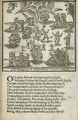 Gunpowder Plot Art Print by British Library