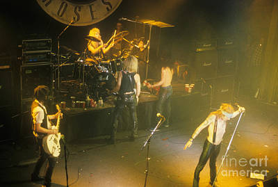 Stradlin Photograph - Guns N Roses by David Plastik