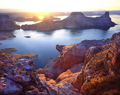 Gunsight Bay Sunrise Art Print