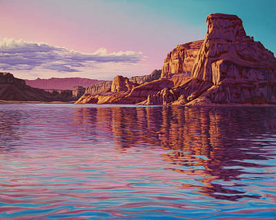Painting - Gunsight Butte by Cheryl Fecht