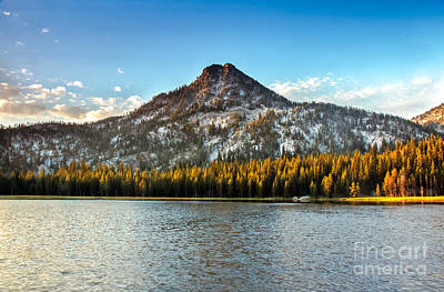 Photograph - Gunsight Mountain by Robert Bales