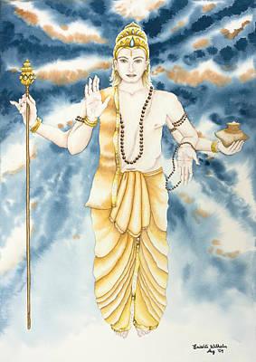 Guru Jupiter Art Print by Srishti Wilhelm
