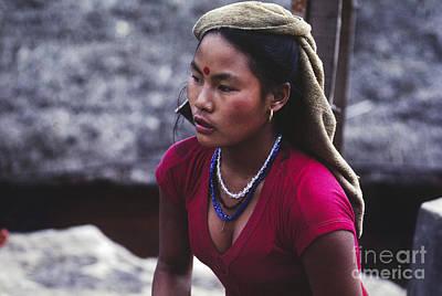 Photograph - Gurung Woman - Annapurna Region - Nepal by Craig Lovell