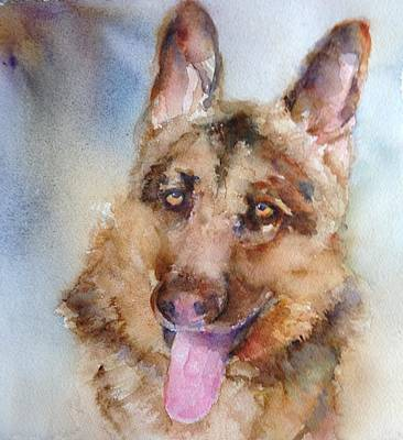 Painting - Gus by Cynthia Roudebush