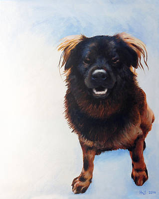 Kevin Hill Painting - Gus by Kevin Hill