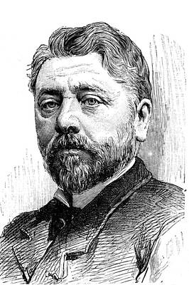 Statue Portrait Photograph - Gustave Eiffel by Collection Abecasis