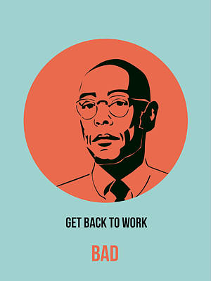 Series Painting - Gustavo Fring Poster 1 by Naxart Studio