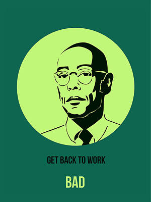 Series Digital Art - Gustavo Fring Poster 2 by Naxart Studio