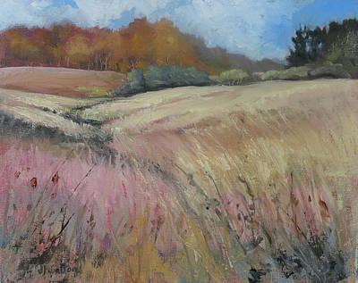 Painting - Guy Dennis's Prairie by Judy Fischer Walton
