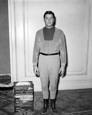 Williams Photograph - Guy Williams In Lost In Space  by Silver Screen
