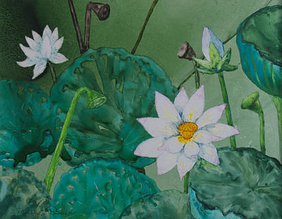 Painting - Guyana Lotus by Patricia Beebe